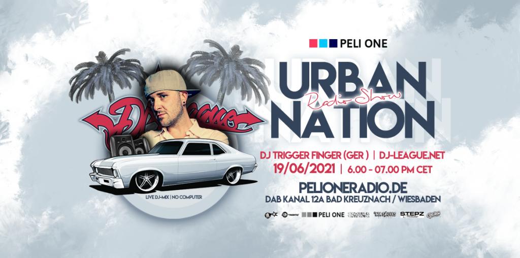 DJ-LEAGUE.NET   Urban Nation Radio Show 19/06/21